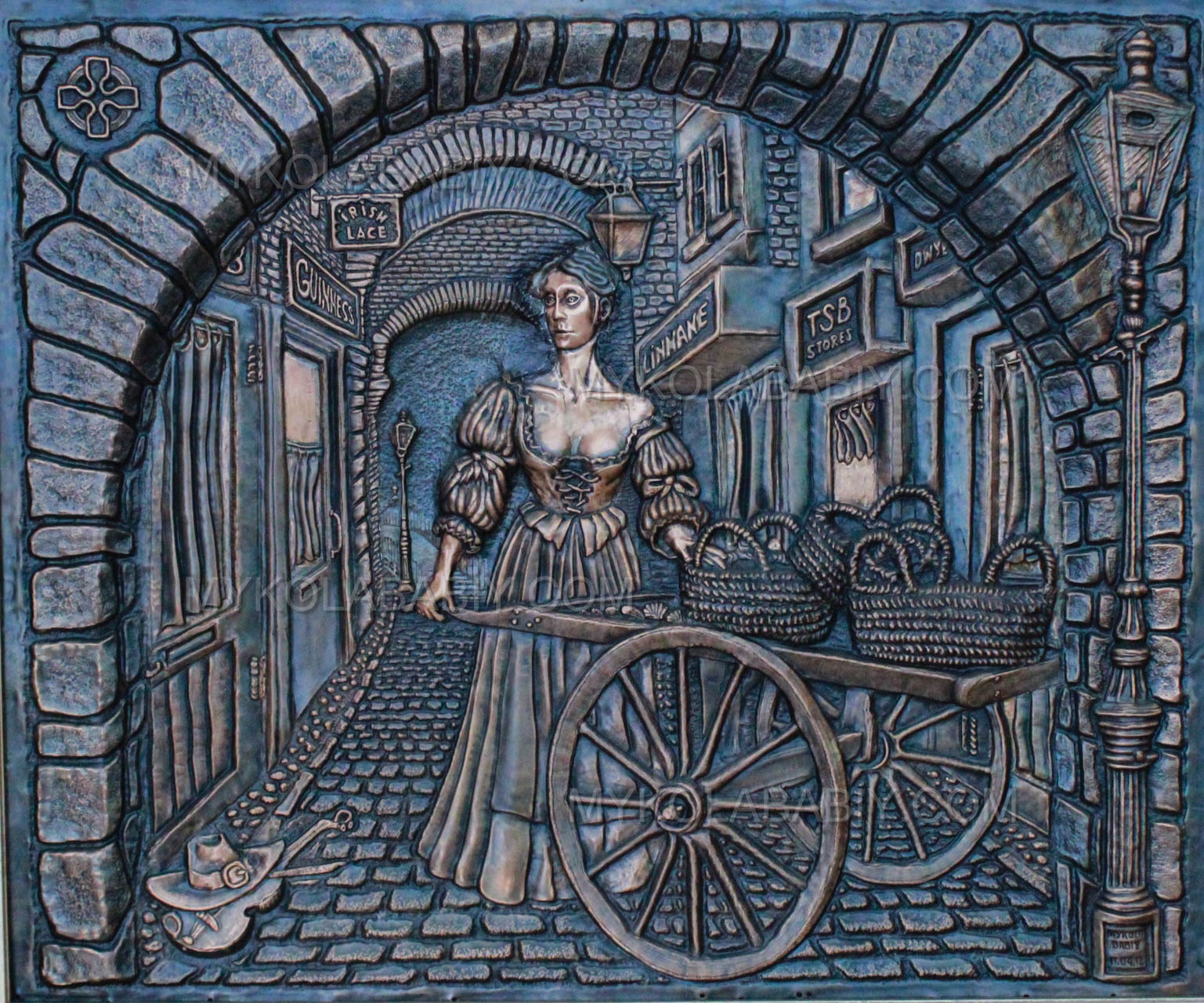 Molly Malone at Merchant Arch